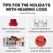 Tips for the holidays with hearing loss header