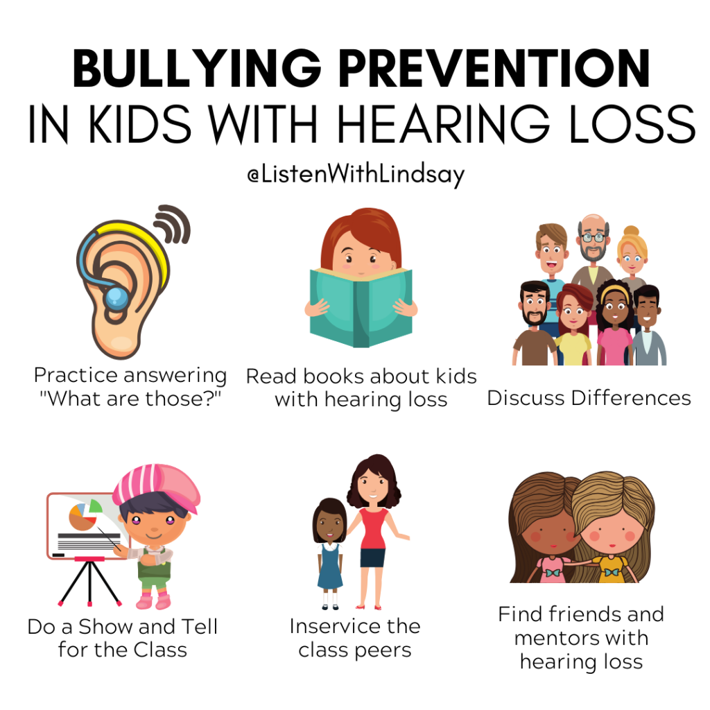 Bullying Prevention in Kids With Hearing Loss