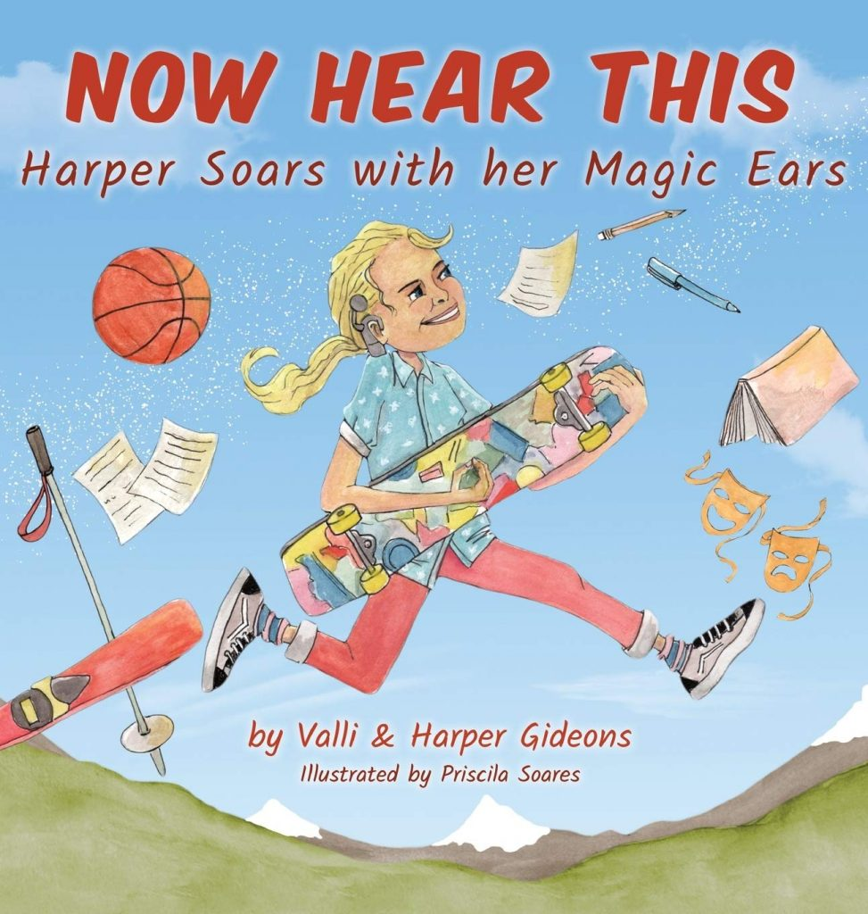Now Hear This Harper Soars with her Magic Ears