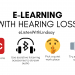 elearning with hearing loss